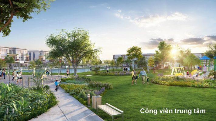 Công viên trung tâm Dự án Lovera Park Bình Chánh