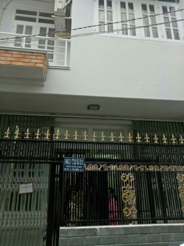 Bán nhà hẻm xe hơi đường Trần Xuân Soạn sổ hồng