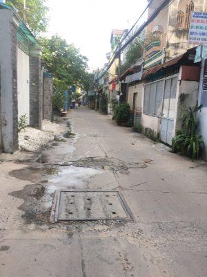 Bán nhà mặt ti�n hẻm 861 Trần Xuân Soạn